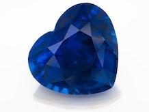 I33 001 Blue Sapp 9 38cts HRT