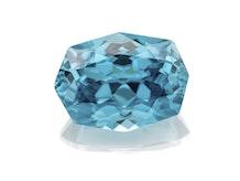 M185 016 1 Blue Zircon 12 1x8 9 Fancy 6 00cts